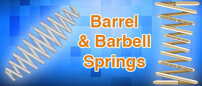 barrel and barbell springs