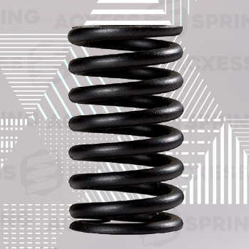 heavy duty compression spring with hefty wire