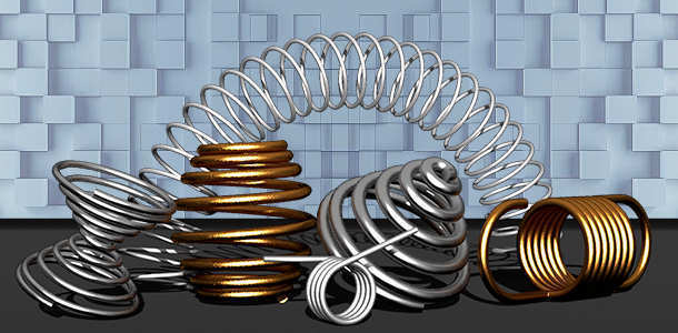 types of helical springs