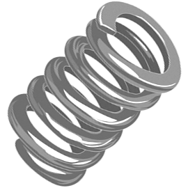 stock music wire compression springs