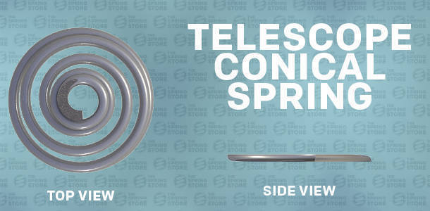 telescope conical spring