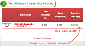 torsional torsion spring calculator closest stock spring