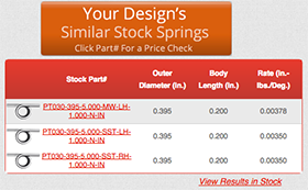 torsional torsion spring calculator similar stock springs